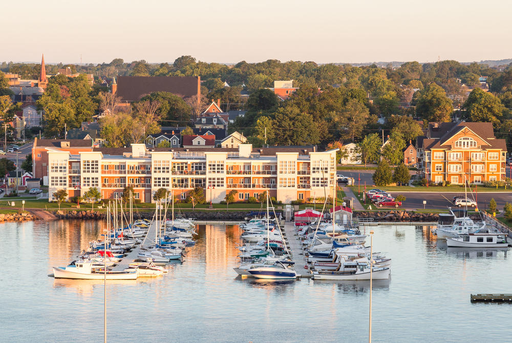 Harbourside at Charlottetown, Prince Edward Island