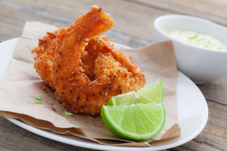Oceania Cruises Chef Kelly's Coconut Shrimp