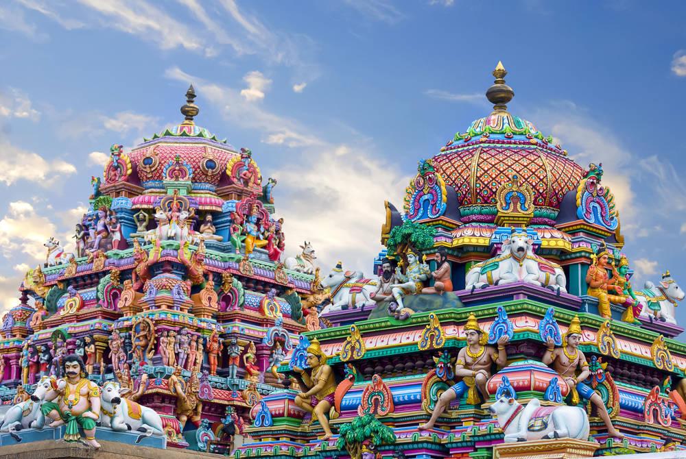 Temple in Chennai, India