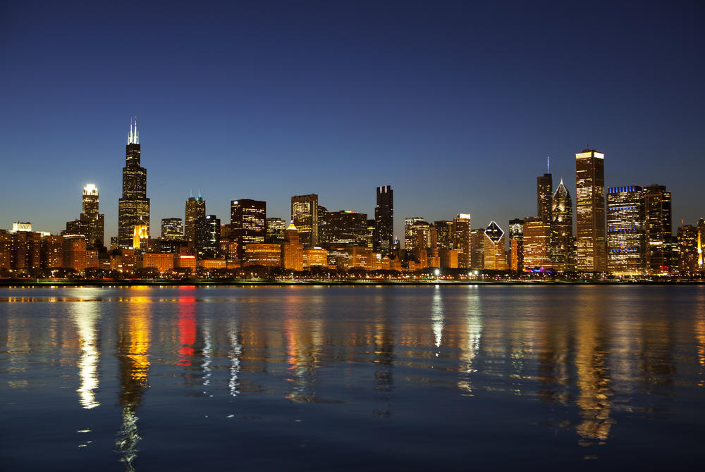 Skyline of Chicago Illinois