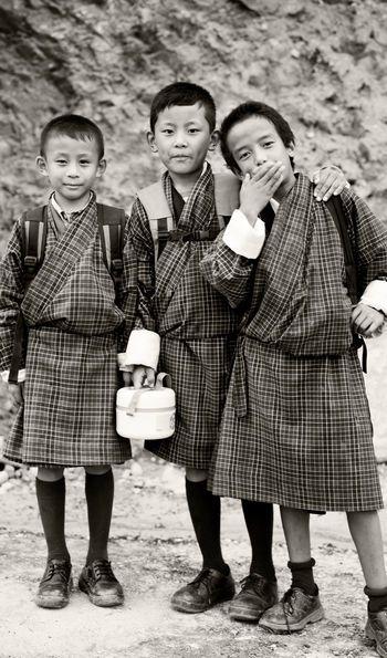 Children of Punakha, BhutanChildren of Punakha, Bhutan