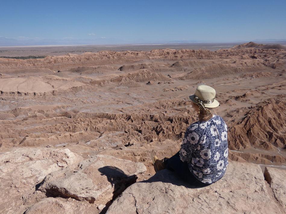 Emma at the Atacama Desert