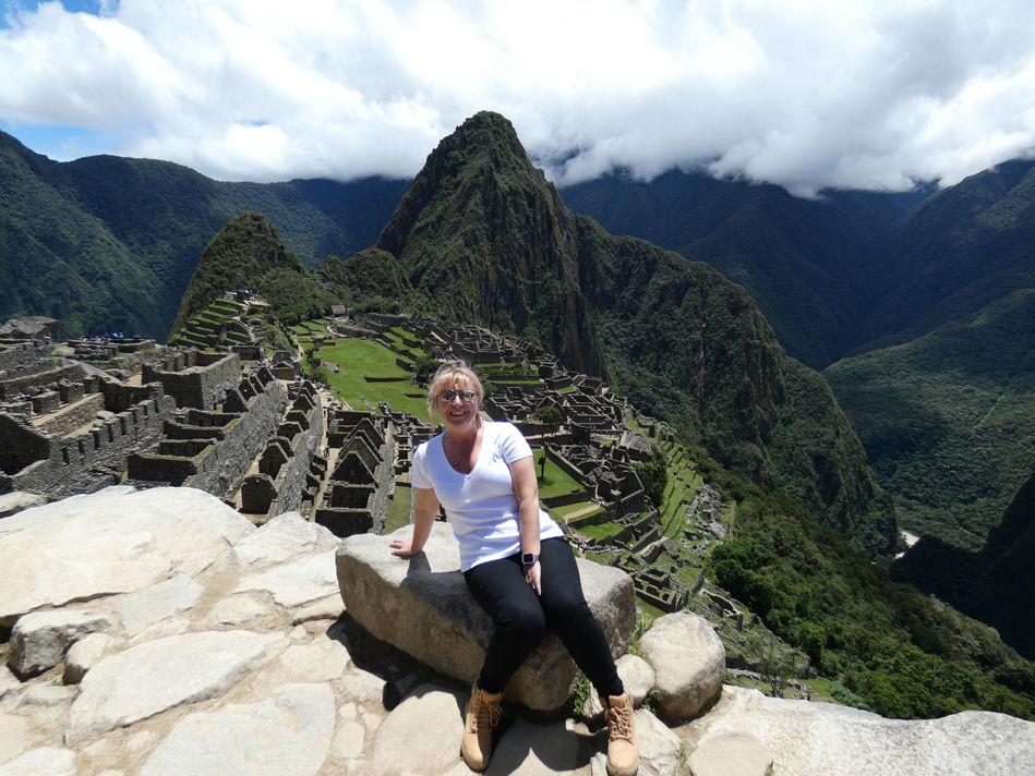 Emma at Machu Picchu, Peru