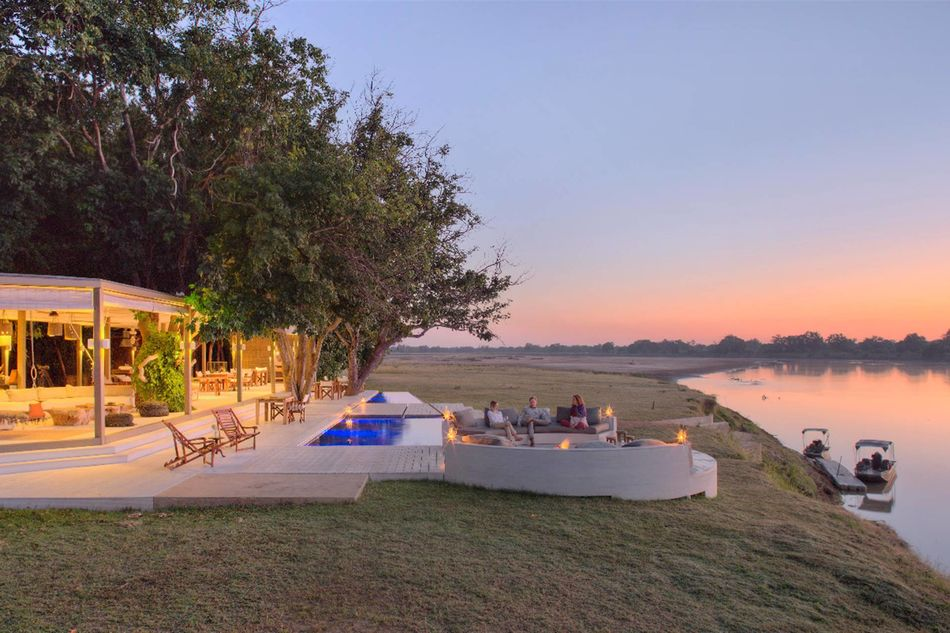 Chinzombo in South Luangwa National Park in Zambia