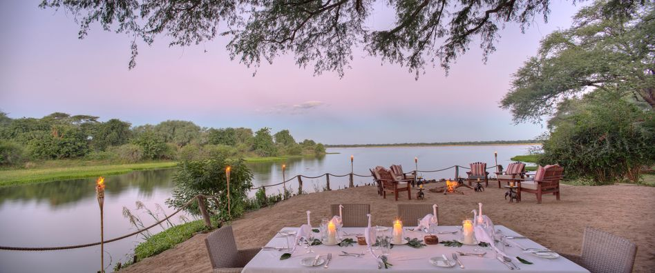 CHongwe River Camp in Lower Zambezi in Zambia