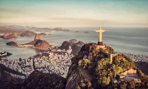 Christ the Redeemer, Botafogo Bay and Sugar Loaf Mountain, Rio De Janeiro