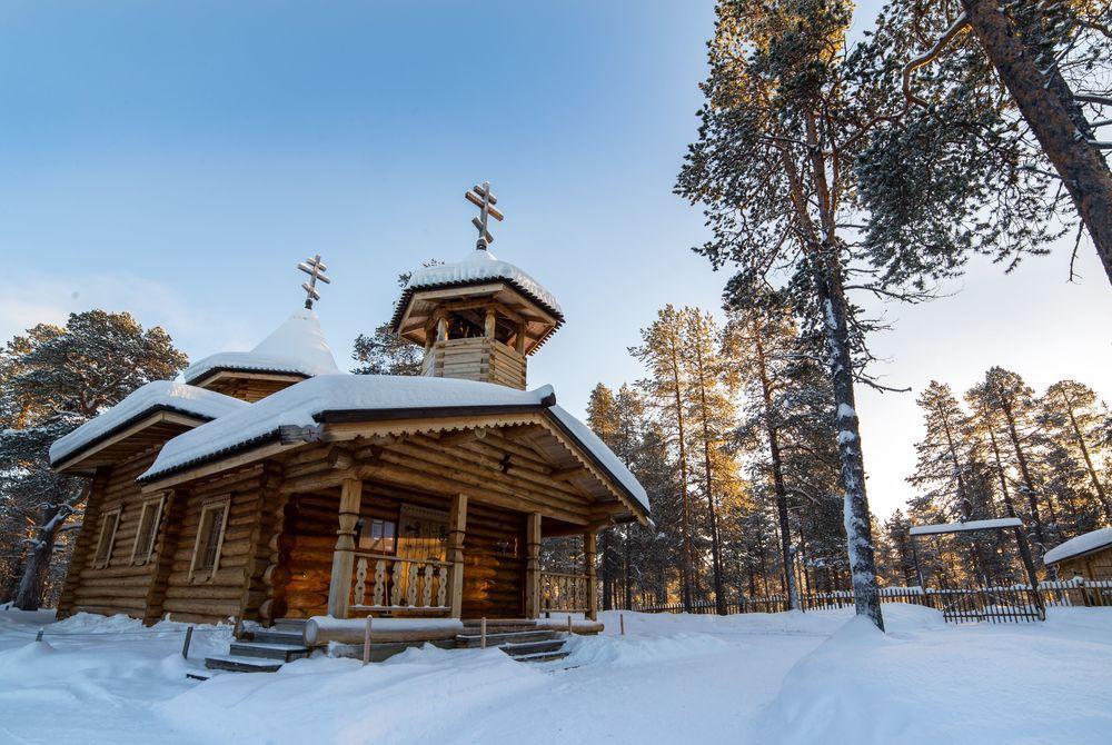 Church, Nellim Wilderness Hotel, Lapland, Finland
