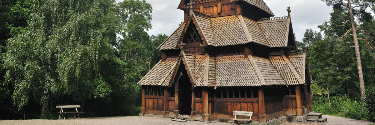 Wooden Church, Oslo, Norway
