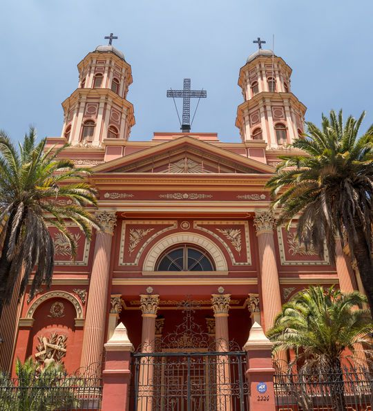 Church in Santiago