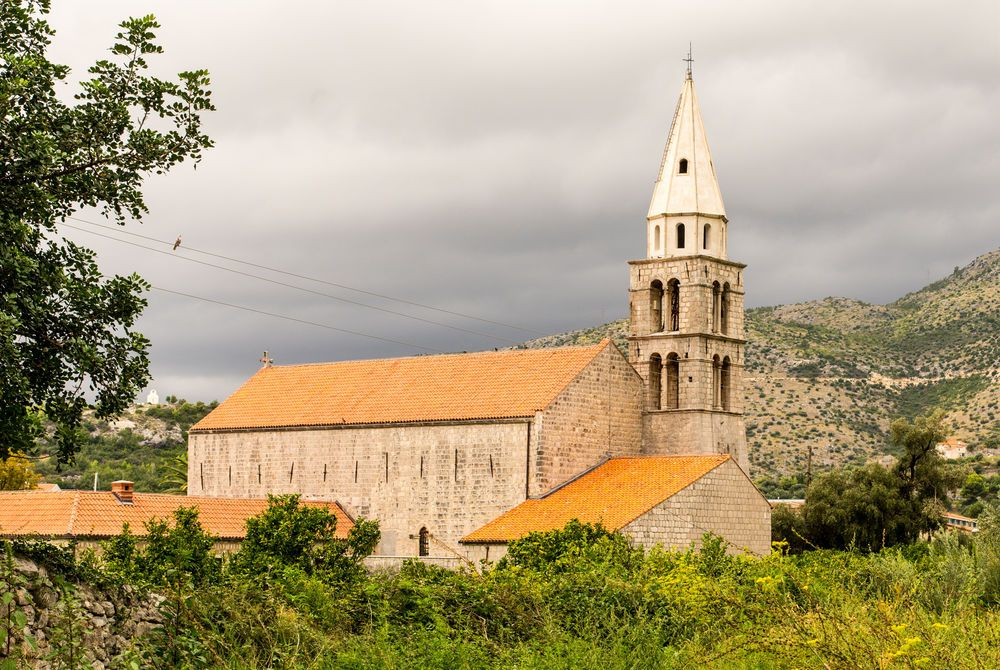 Church in Slano Croatia