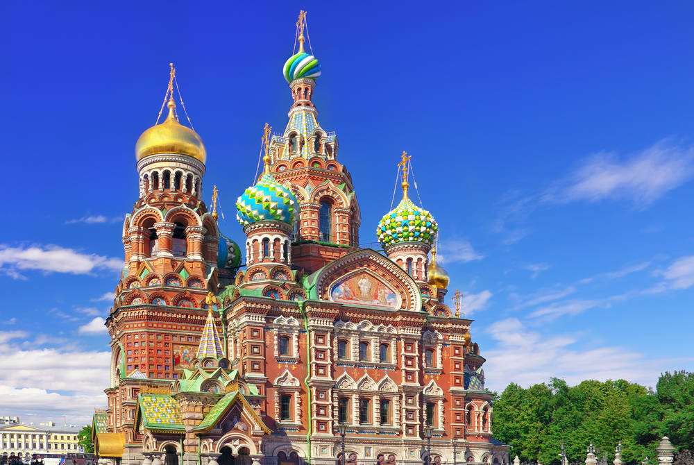 Church of the Saviour on Spilled Blood, St. Petersburg
