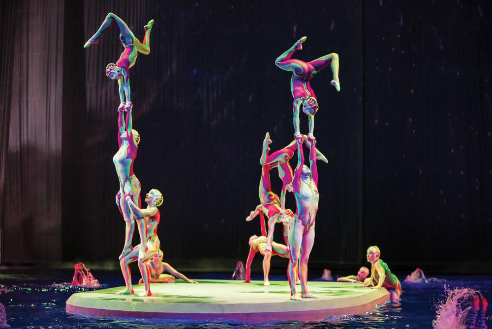Cirque du Soleil, Las Vegas