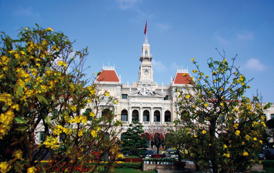 City Hall of Saigon (Ho Chi Minh City)