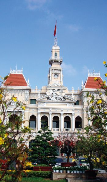 City Hall of Saigon, Ho Chi Minh City, Vietnam