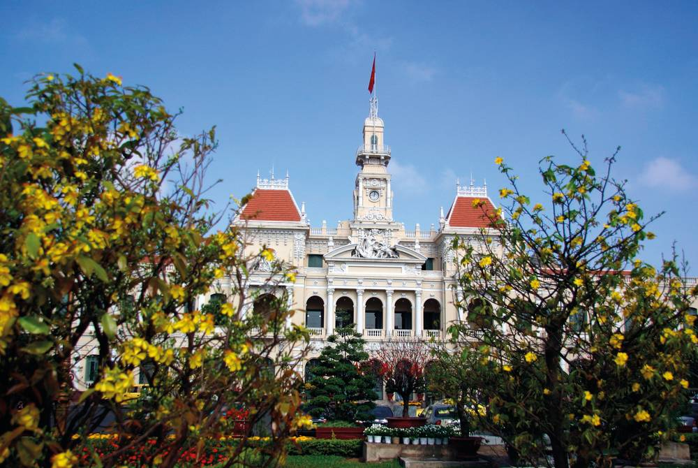 City Hall of Saigon, Ho Chi Minh City