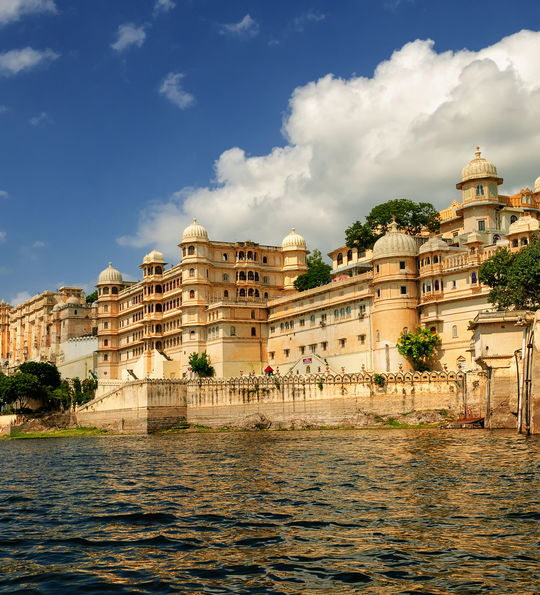 City Palace in Udaipur, Rajasthan