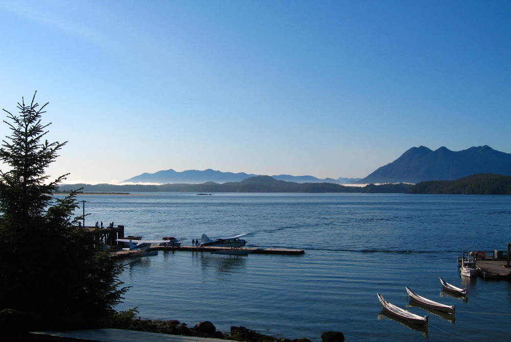 Kayaks, Clayoquot Sound