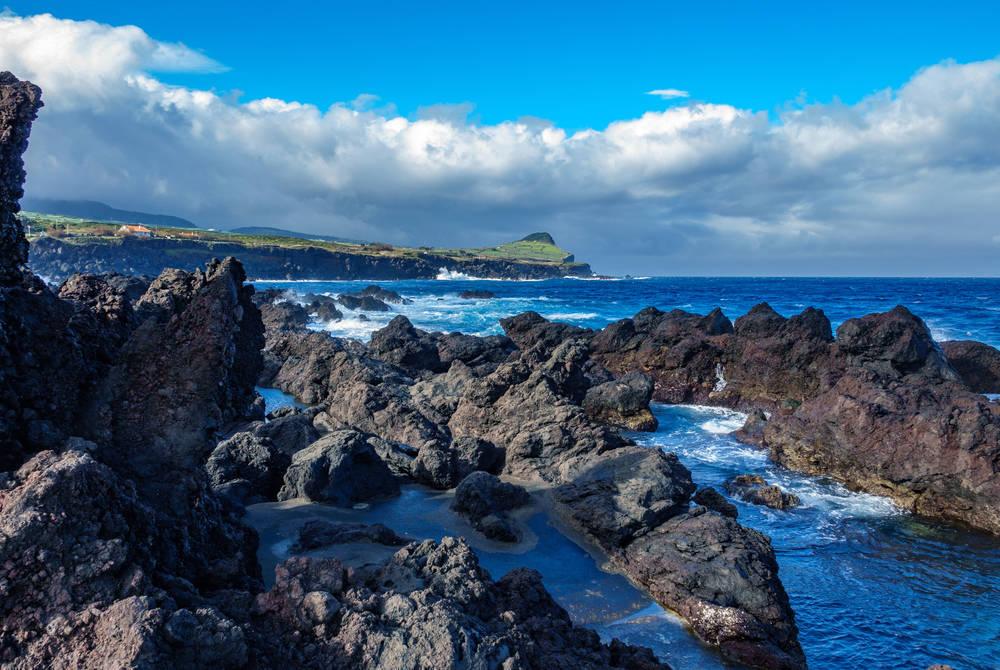 Coast near Boscoitos, Azores
