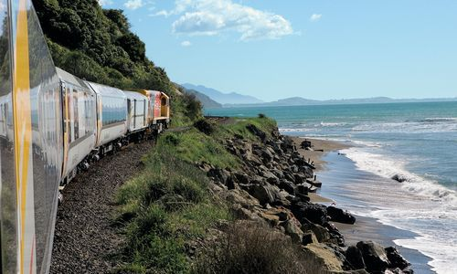 Coastal Pacific Train