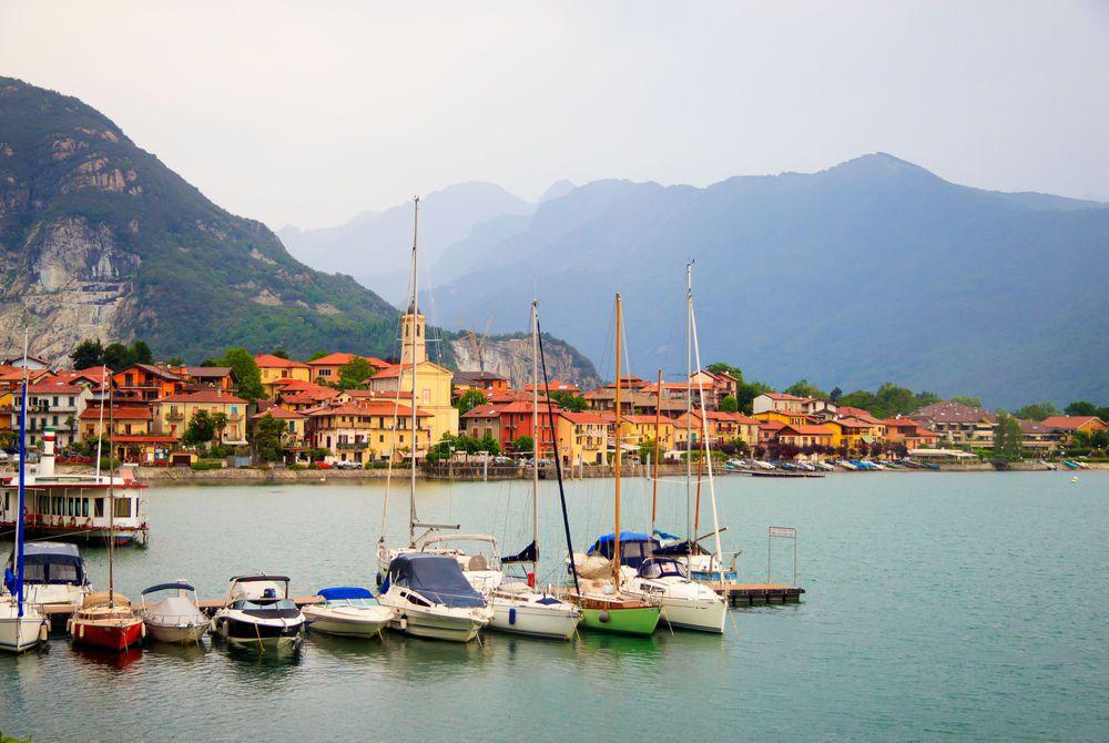 Coastal Village, Lake Maggiore