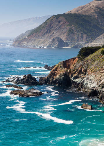 Coastline, Highway 1, California