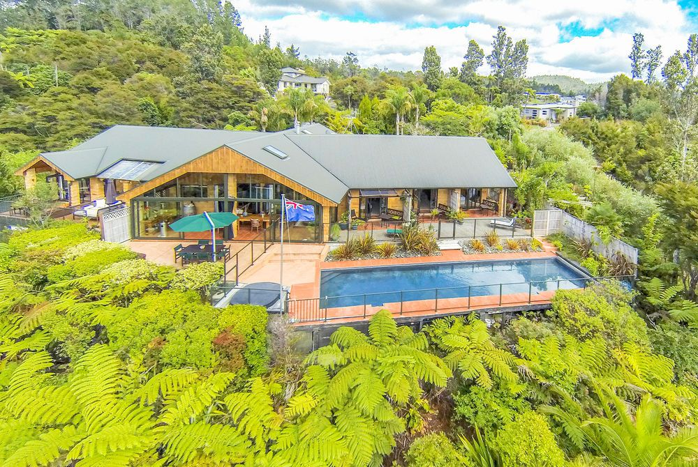 Colleith Lodge aerial, New Zealand