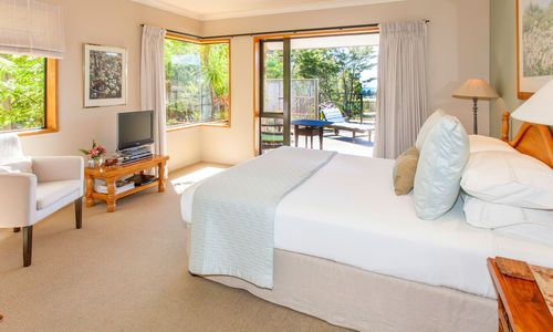 Colleith Lodge bedroom, New Zealand