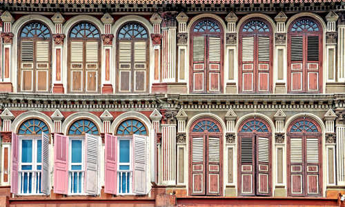 Colonial houses, Singapore