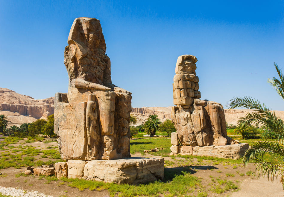 The Colossi of Memnon