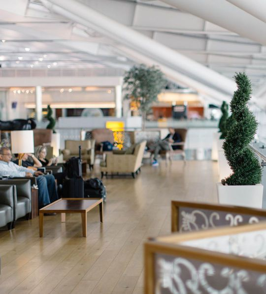 Concorde Room at Heathrow Terminal 5 Lounge