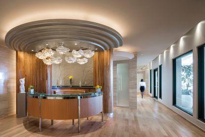 Reception Lobby, Condado Vanderbilt Hotel