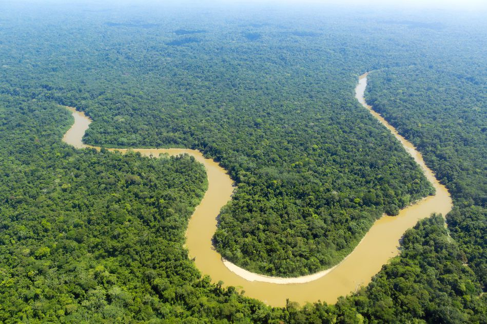 Image of Conanaco River in the Ecuadorian Amazon