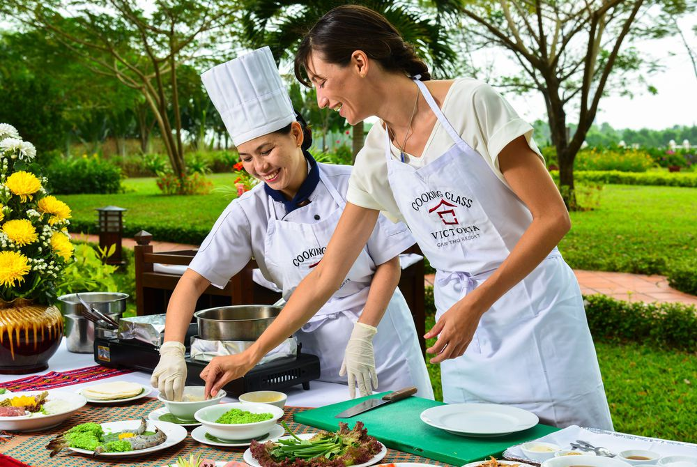 Cooking Class, Victoria Can Tho, Mekong Delta, Vietnam