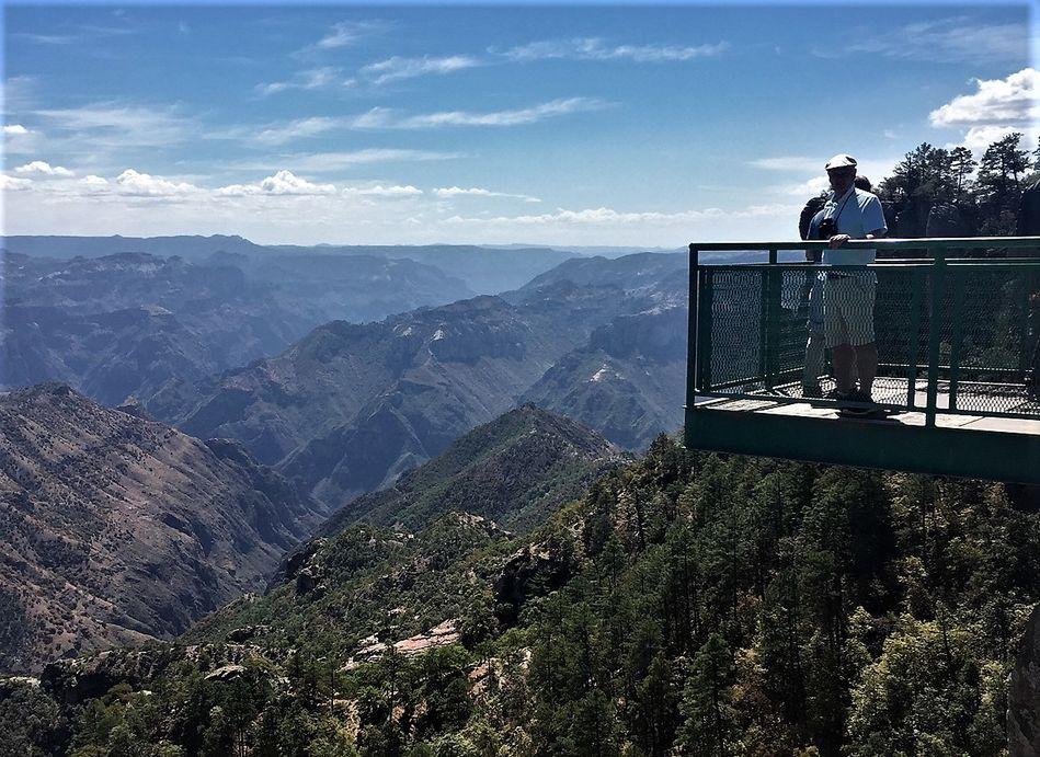 Copper Canyon views