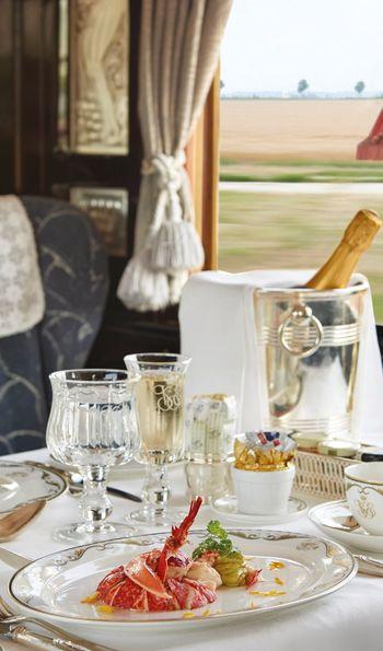 Cote D'Azur Dining Car, Venice Simplon-Orient-Express