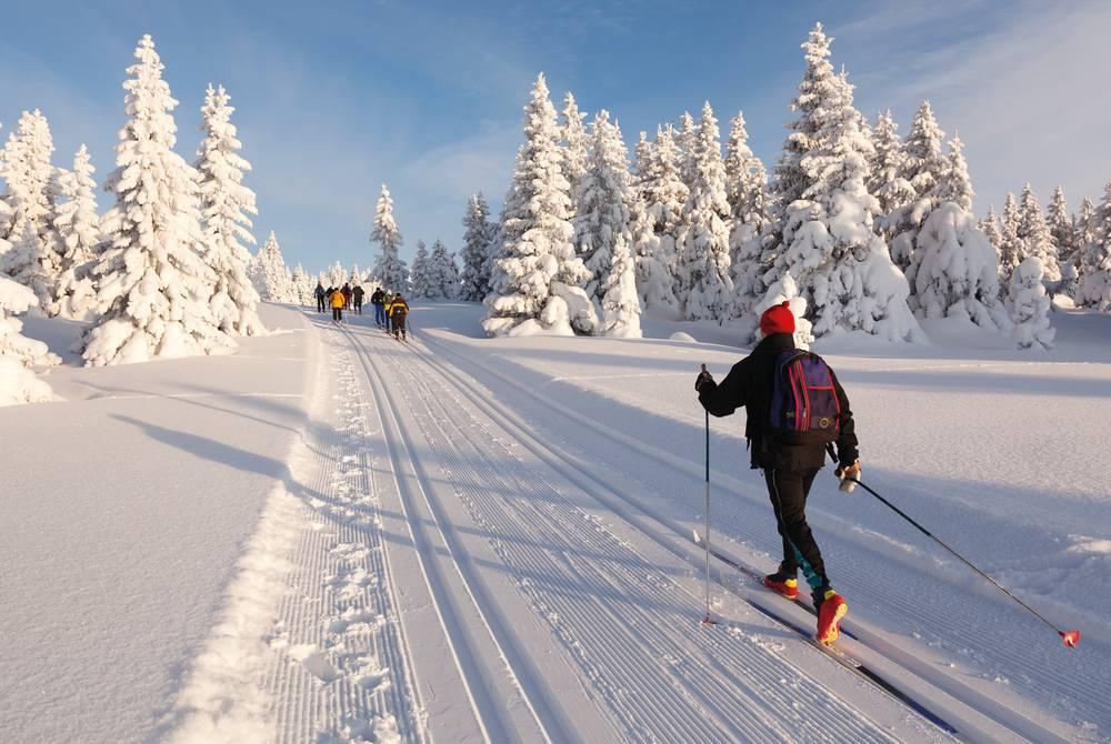 Cross-country skiing, Swedish Lapland