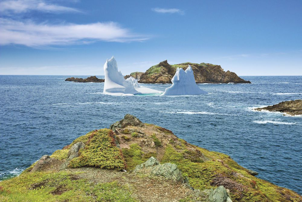 Crow Head Iceberg, Newfoundland