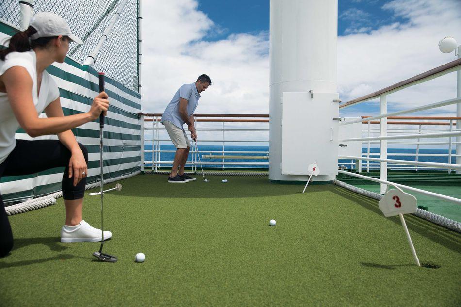 Crystal Cruises golf theme cruises