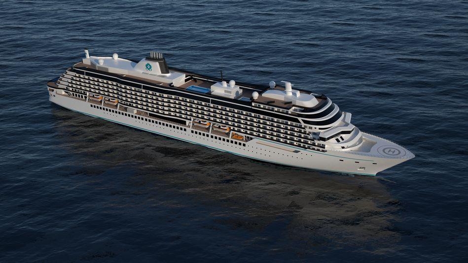 Crystal Cruises Diamond Class cruise ships