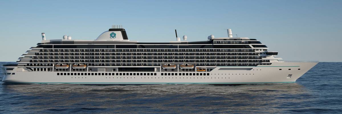 First look at Diamond Class cruise ships from Crystal Cruises