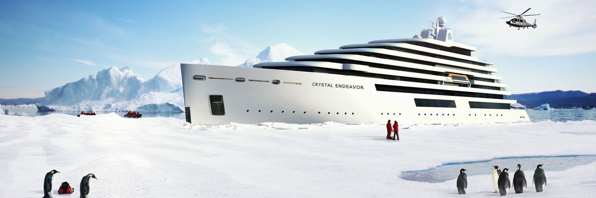 Crystal Cruises launch Crystal Yacht Expedition Cruises