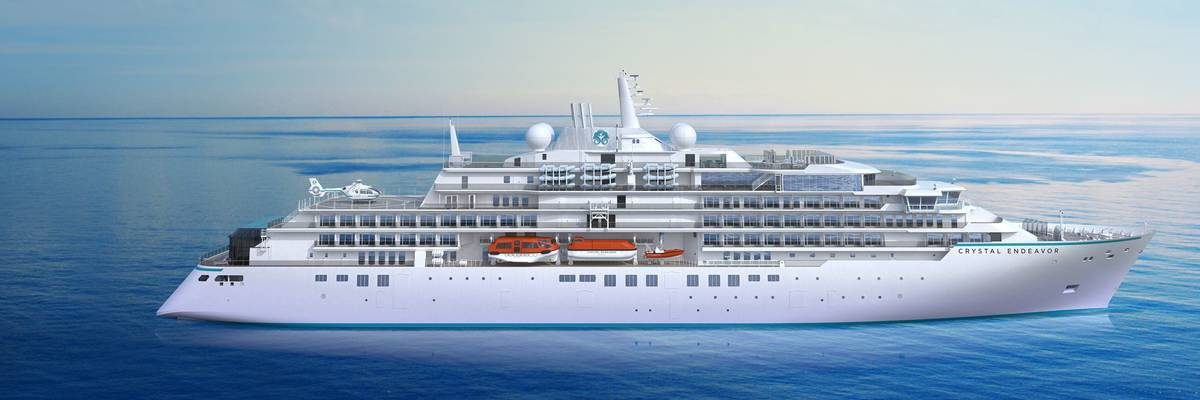 Crystal Endeavor expedition itineraries announced