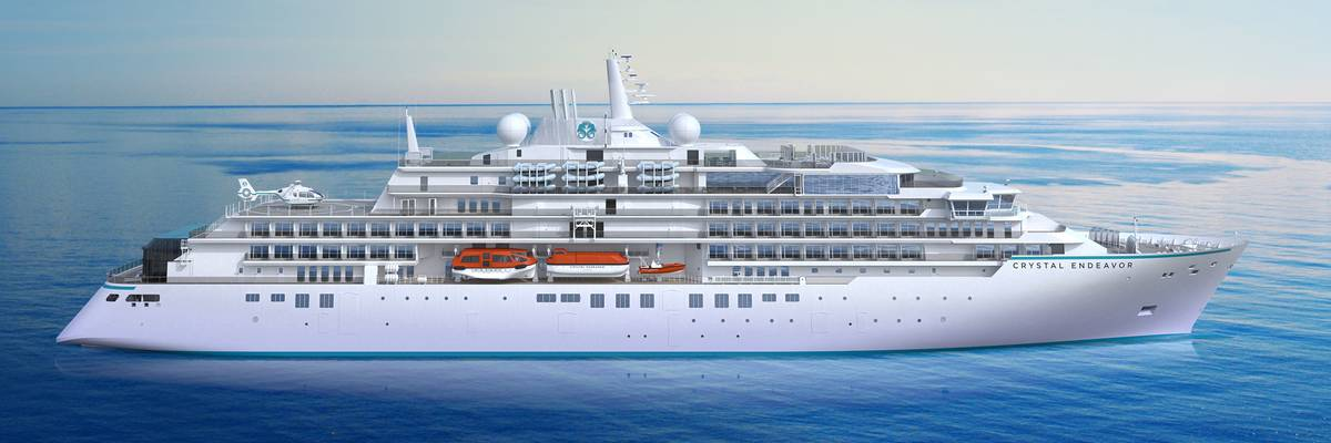 Crystal Endeavor Keel Laying