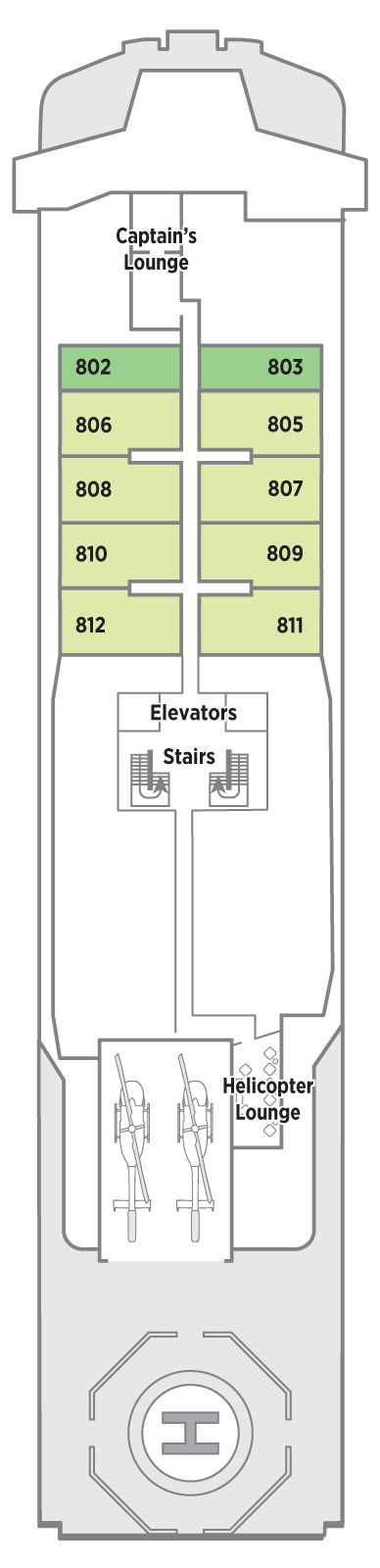 Penthouse Deck 8