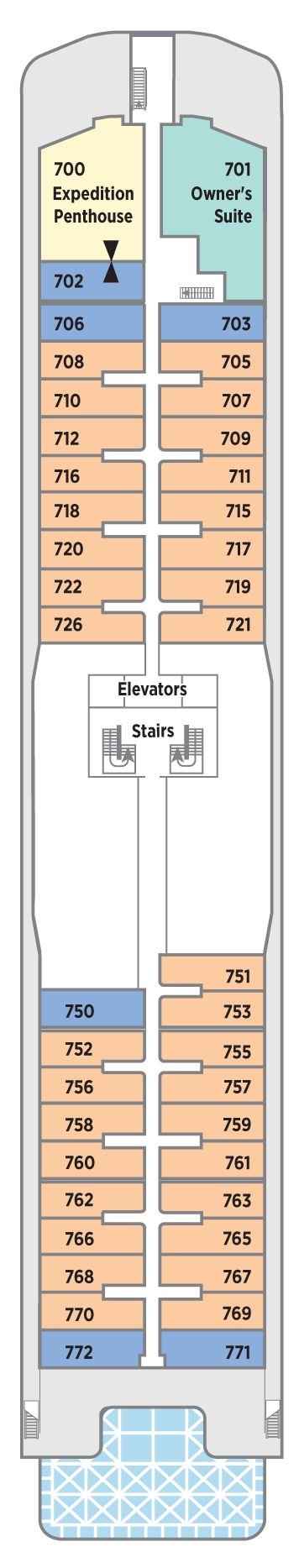 Seabreeze Deck 7