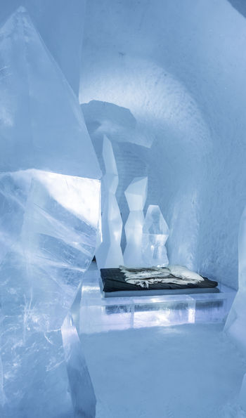'Crystal Forest' Deluxe Suite, ICEHOTEL