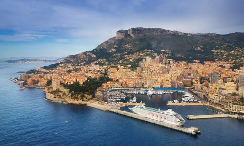 Harbor of Monte Carlo, Monaco