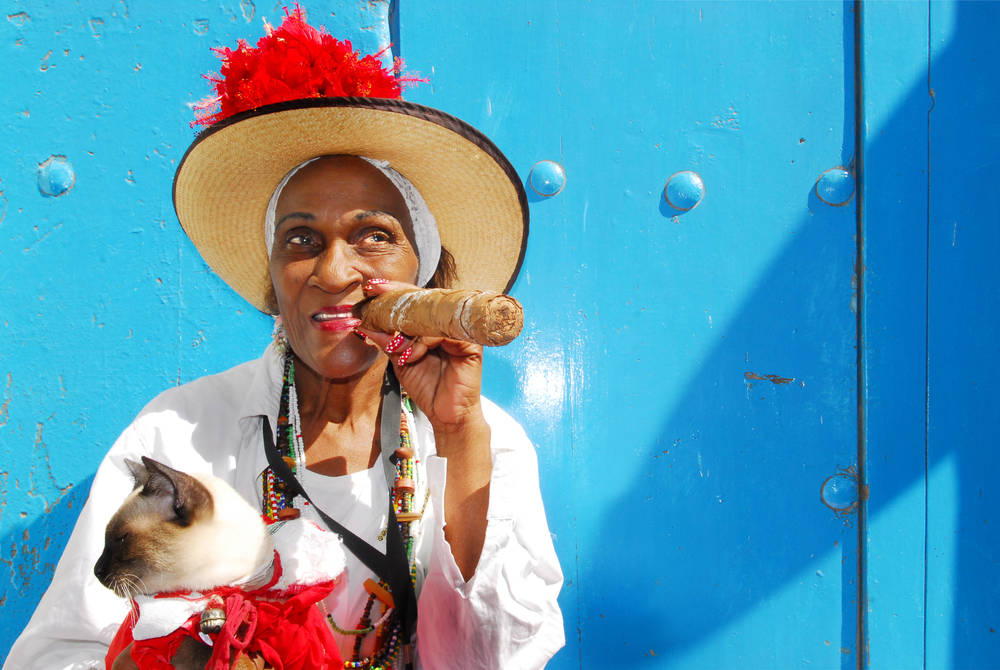 Local lady in Havana