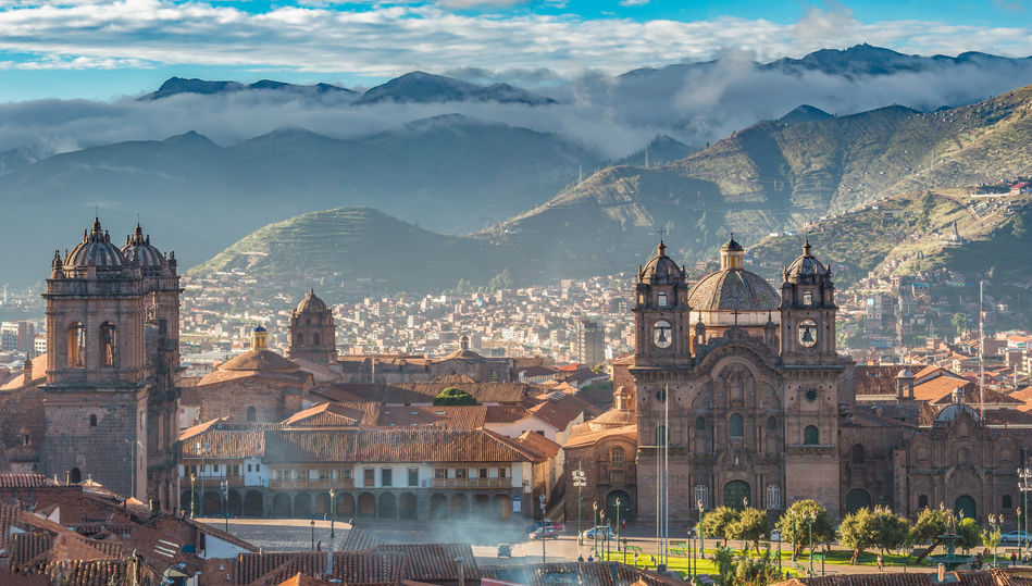 View of Plaza de Armas, Cusco