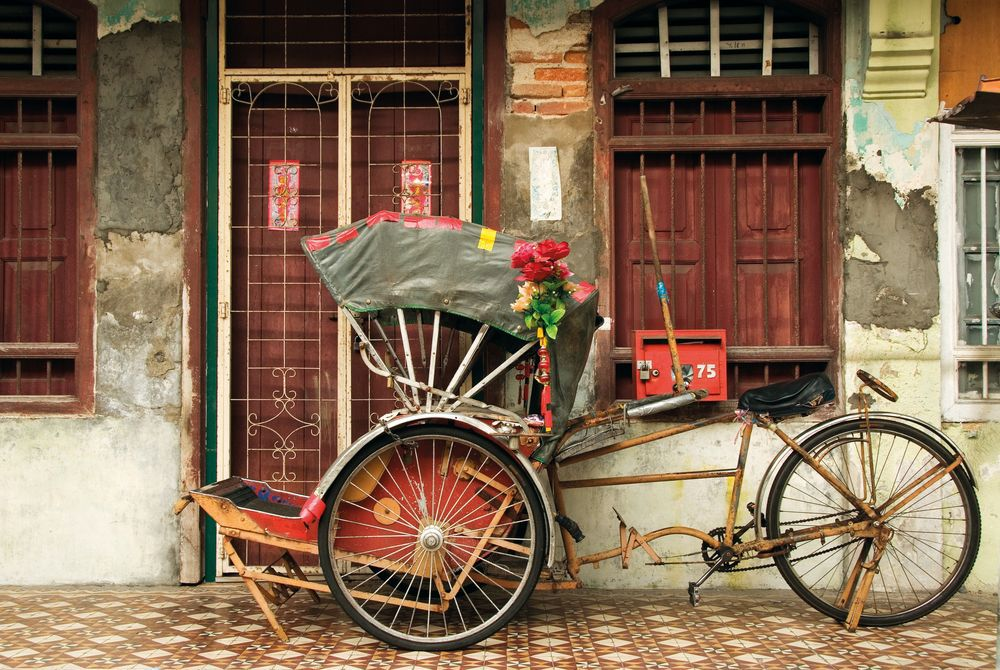 Cycle Rickshaw, Georgetown, Penang